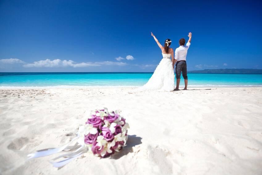 Happy Tropical Wedding
